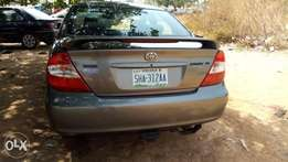 First body Camry few months used