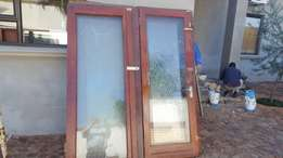 wooden frame folding doors