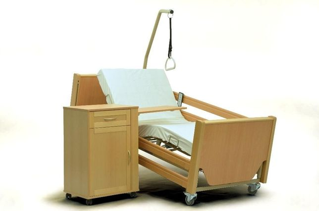 łóżko Rehabilitacyjne Szpitalnie Drewniane Wypożyczenie