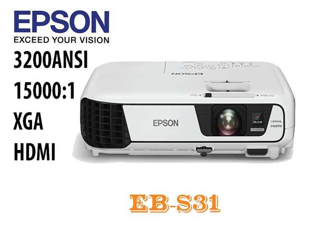 July Offer! Epson EB-S31 Projector.Was 45,000,Now 40,000 Nairobi CBD - image 4
