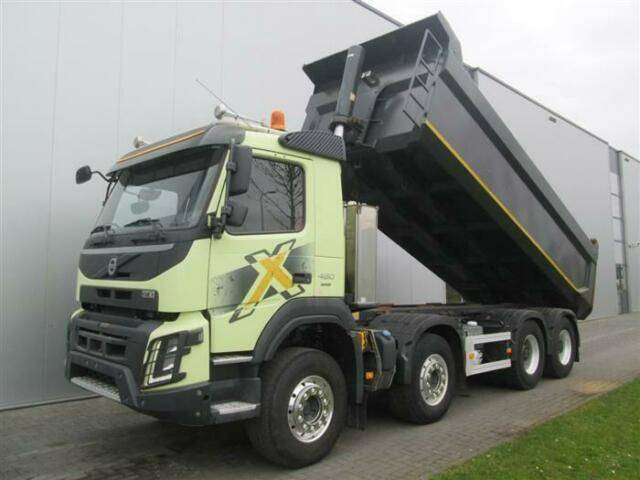 Volvo FMX460 8X4 VEB+ HUB REDUCTION MEILLER EURO 6 - 2013
