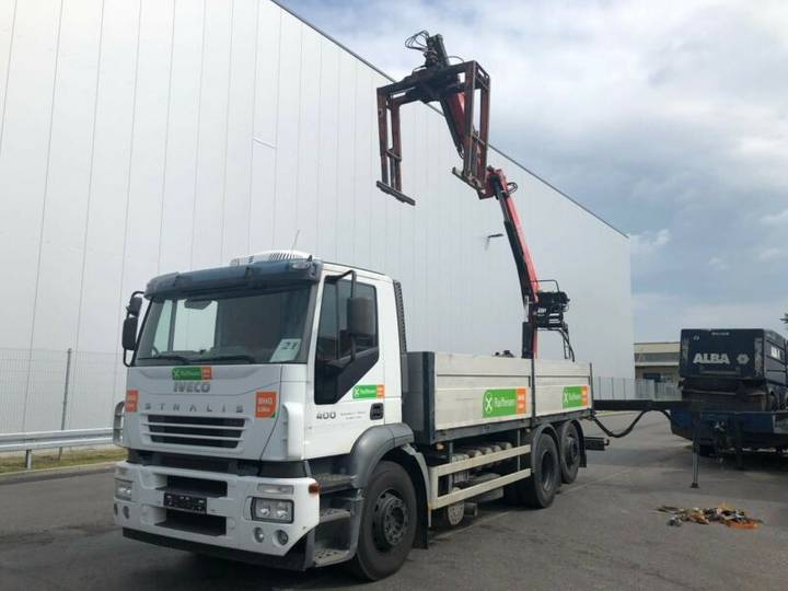 Iveco Stralis AD260S40Y/ FASSI F 130 A23/Baustoff - 2007