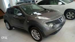 Nissan Juke grey colour 2010 model. KCP number Loaded with Alloy rims,