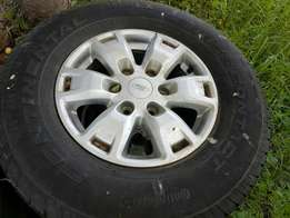 Tyres and mags set of 4