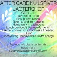 After school care Kuilsriver