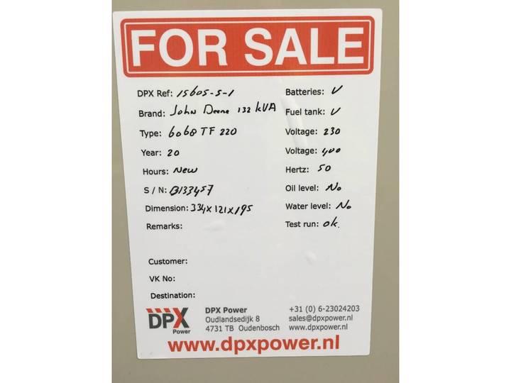 John Deere 6068TF220 - 132 kVA - DPX-15605-S - 2019 - image 18