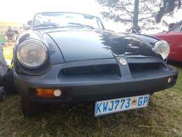 Black MGB Roadster for sale
