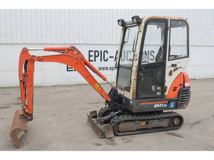Kubota KX 41-3 V Mini Graafmachine - 2008