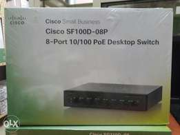 Cisco small business 8-port 10/100 PIE Desktop switch