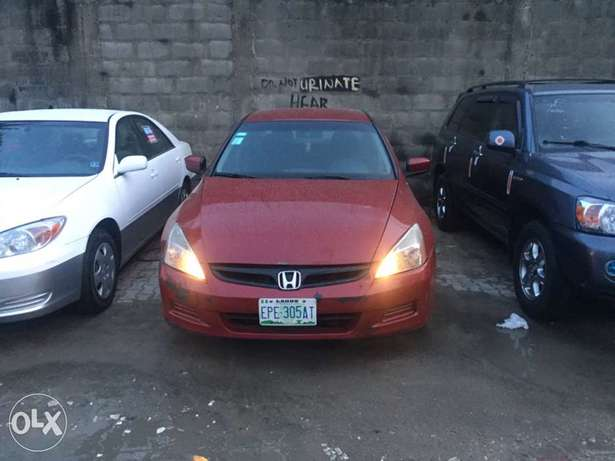 Very clean Honda Accord 2007 used Ikoyi - image 8