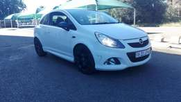 2010 Opel Corsa Coupe opc 1.6, Turbo with six speed for R115,000.