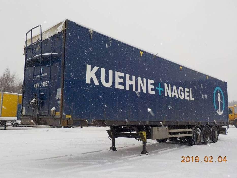 Kraker Moving Floor Cf503 - Hydraulic Openside - Wdk 267 - 2011
