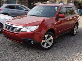 Subaru forester amazing orange colour 2010 model excellent condition