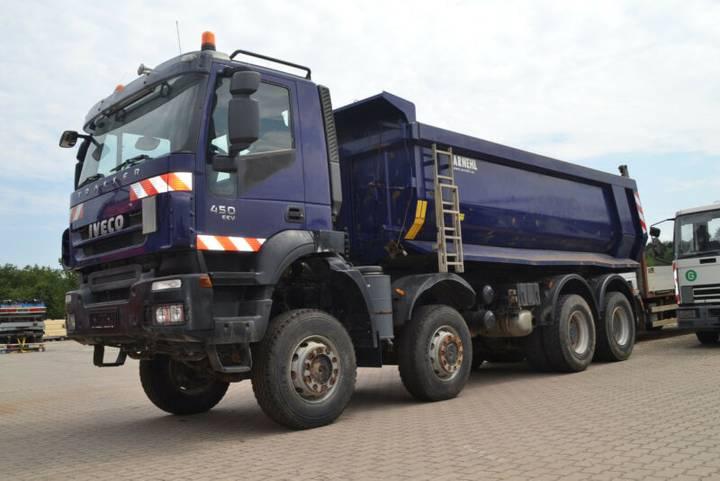 Iveco Magirus 450 EEV Kipper 18cbm 8x8 Kupplung neu!! - 2012