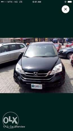 Honda CR-V 2010 in 100% perfect condition. Sharp and full option. Ikeja - image 1