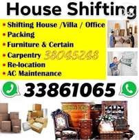 We Do shifting packing all type of furniture and household items