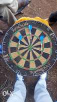 Dart board plus darts