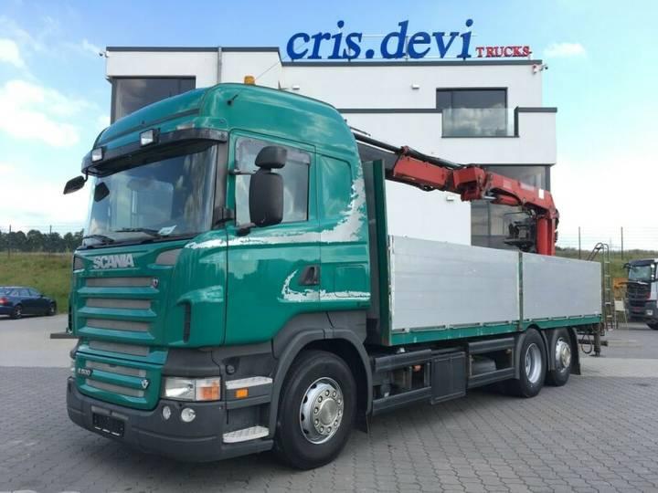 Scania R500 6x2 HMF 2000 L2 Baustoff Greiferleitung V8 - 2007