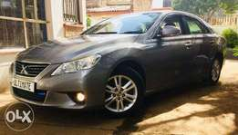 Toyota mark x just arrived