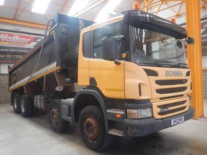 Scania P360 EURO 5, 8 X 4 STEEL TIPPER - 2012 - SK12 MWD
