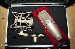 Shure KSM44 Condenser Pro Mic With Multiple Polar Pattern Options