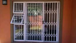 Same day installation trellis gates and burglar bars