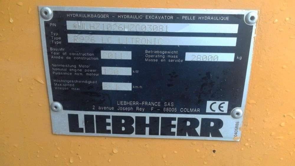 Liebherr R926 Advanced Lc Litronic - 2011 - image 5