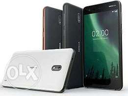 Nokia 2 (2017) Brand new, Sealed with warranty,Free glass and delivery