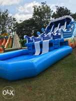 Pool,slide and zorb balls for hire