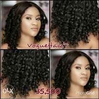 Mide Curly Lace Closure wig