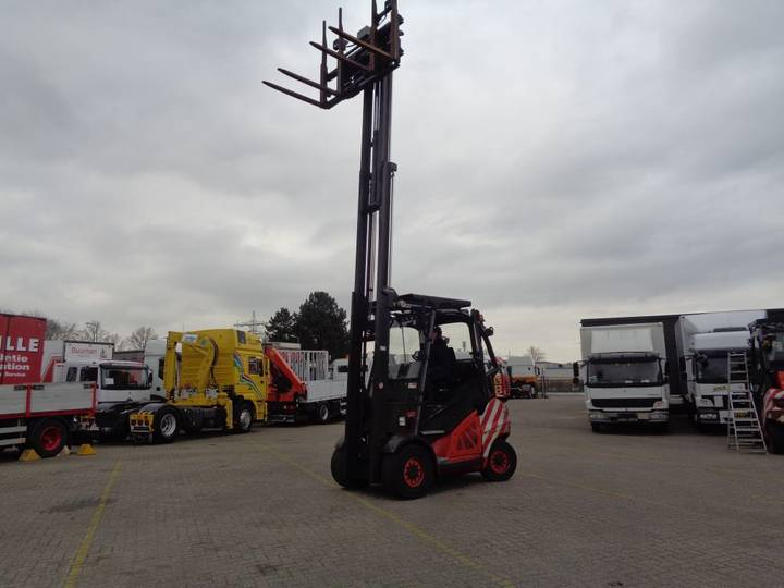 Linde h45t-01 + 4 points + 4.5ton h45t - 2011