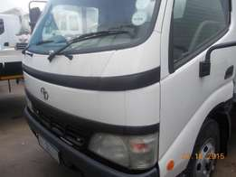 4t Toyota Dyna closed body
