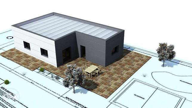 Modular houses 54m2 / 80m2 / 100m2 / 120m2 - DO IT BY YOURSELF جدة -  5