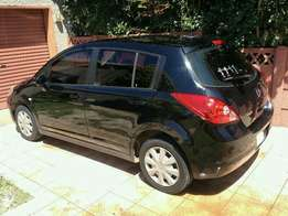 Must go! nissan tiida hatchback in great condition R64000
