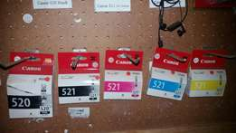 Canon ink set for sale R50each