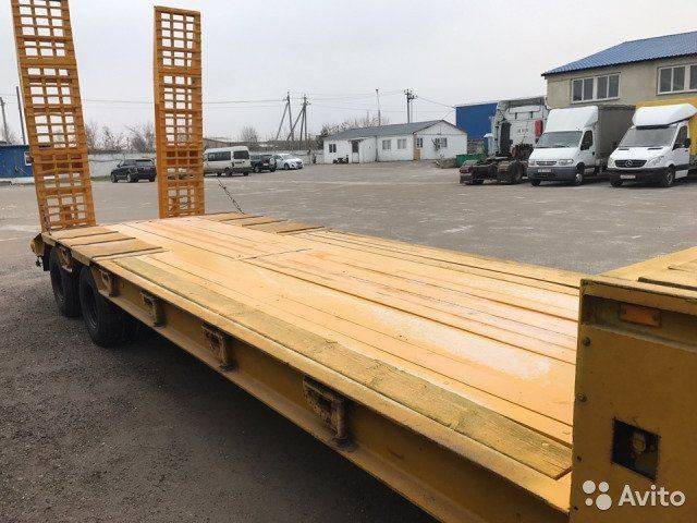 tral low bed semi - 2019