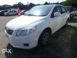 Toyota Axio Year 2010 Model Automatic 2WD White KCP Ksh 1.02M