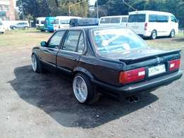 BMW e30 box shape spin car