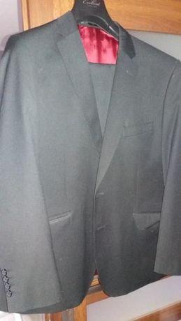 8be0c12a88032 Czarny elegancki garnitur JAN KOWALSKI rozm. 182/100 Iława - image 1