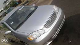 Clean Tokunbo Corolla 2007 Silver