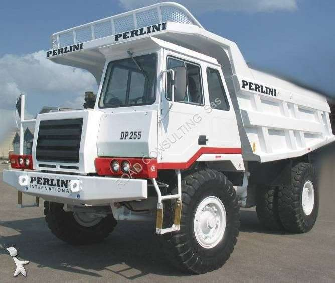 Perlini Dp255 Haul Truck - 1986