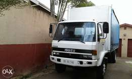 8 ton curtainside truck for hire