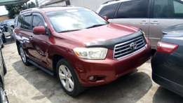 Toyota Highlander Limited 2009 wine
