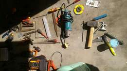 Various tools forsale elec and ref