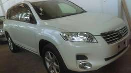 Brand new Fully loaded pale white Toyota Vanguard on sale.