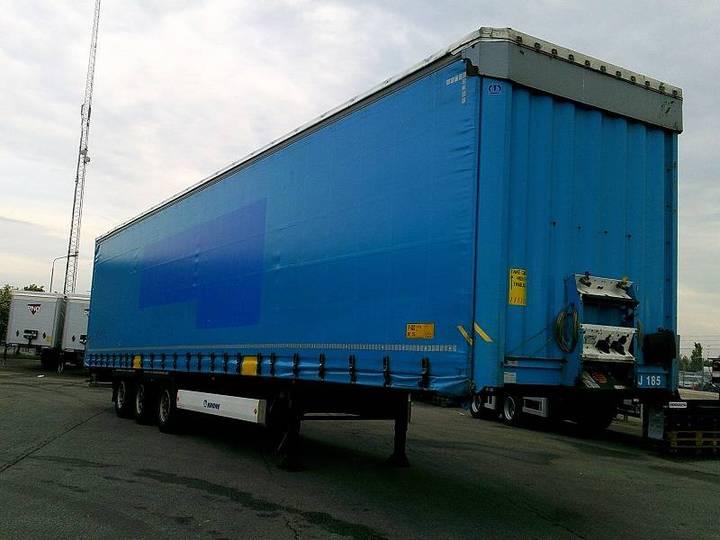 Krone Mega Curtain - Lifting Roof - Xcj 185 - 2014