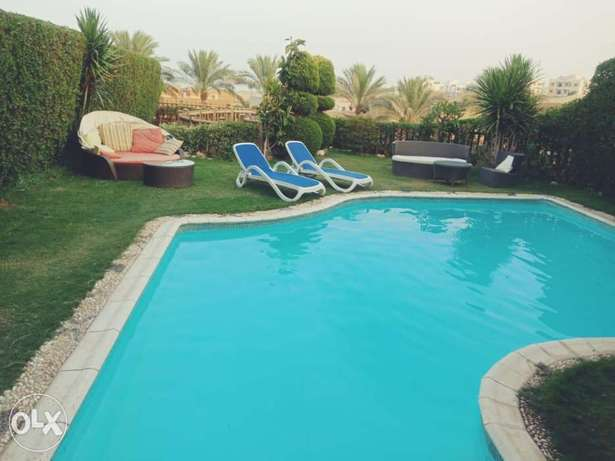 Villa with private pool Cancun elsokhna
