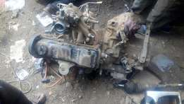 Passat engine and gearbox