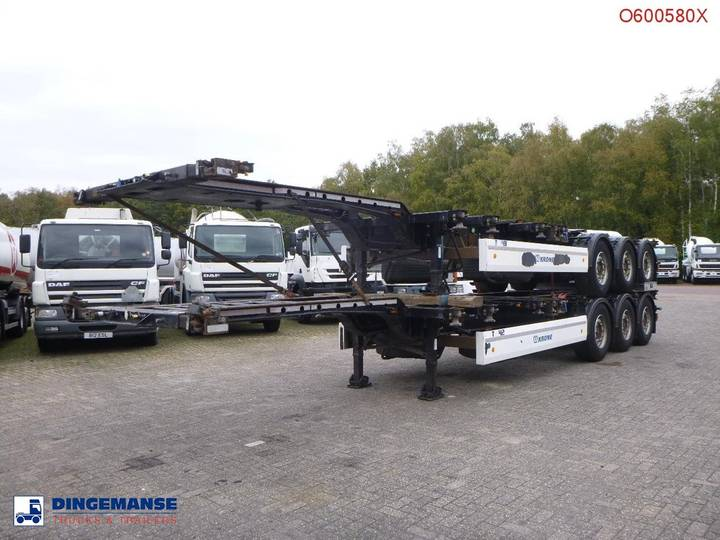 Krone Stack - 2 x container trailer 20-30-40-45 ft - 2013