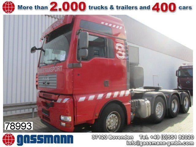 MAN tga41.540 8x4 bbs schwerlast 160.000kg techn. - 2007